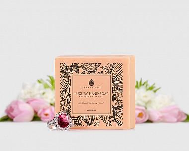 Spring Blooms Moroccan Argan Oil Hand Soap