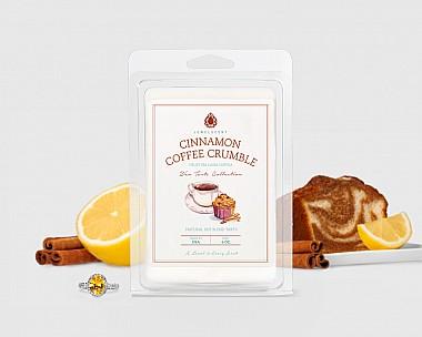 Cinnamon Coffee Crumble Wax Tarts