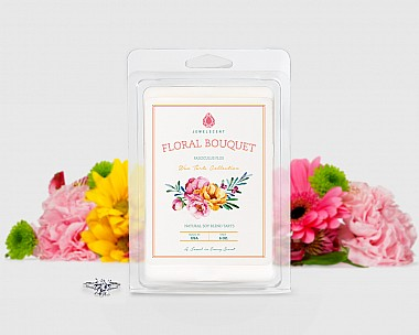 Floral Bouquet Wax Tarts