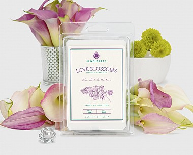 Love Blossoms Wax Tarts