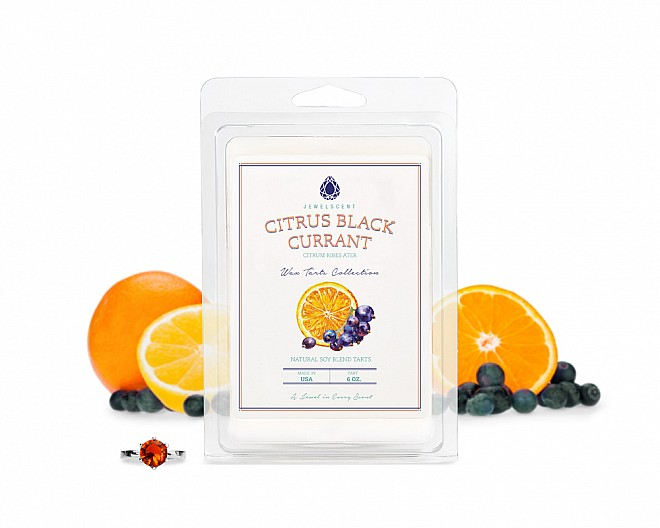 Citrus Black Currant Jewelry Wax Tarts