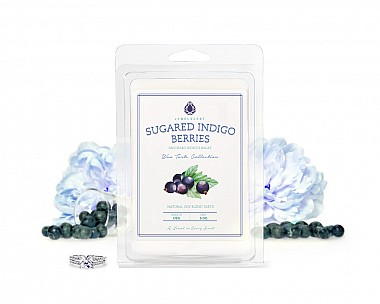 Sugared Indigo Berries Jewelry Wax Tarts