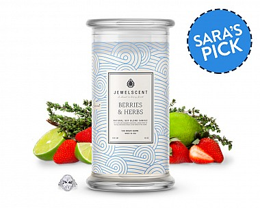 Berries And Herbs Candle