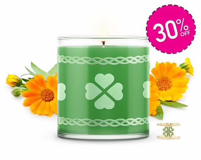 LUXE Lucky Jewelry Candle