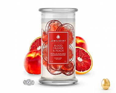 Blood Orange and Peach Jewelry Candle