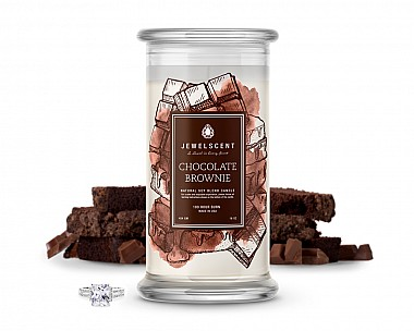 Chocolate Brownie Jewelry Candle