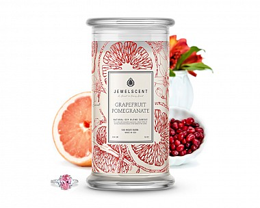Grapefruit Pomegranate Jewelry Candle