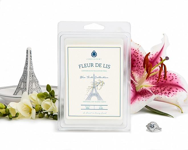 Fleur de Lis Jewelry Wax Tarts