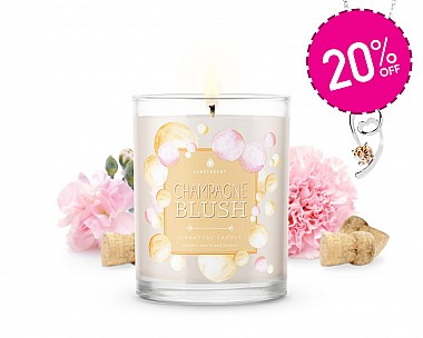 Signature Champagne Blush Jewelry Candle