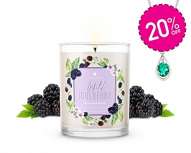 Signature Wild Mulberry Jewelry Candle