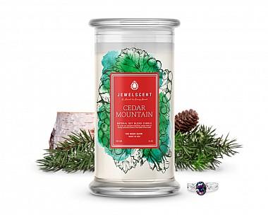 Cedar Mountain Jewelry Candle