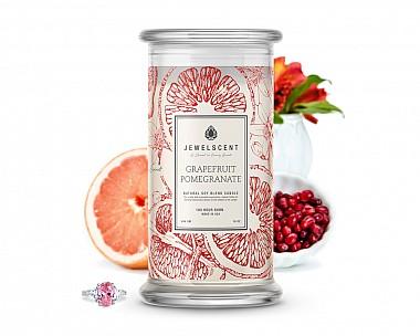 Grapefruit Pomegranate Jewelry Candle