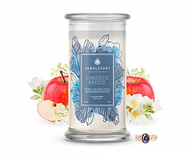 Lakeside Breeze Jewelry Candle