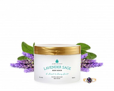Lavender Sage Jewelry Body Scrub
