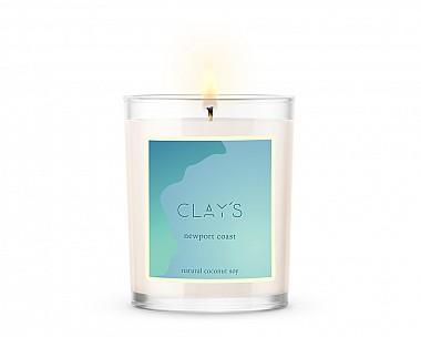 newport coast 10oz candle