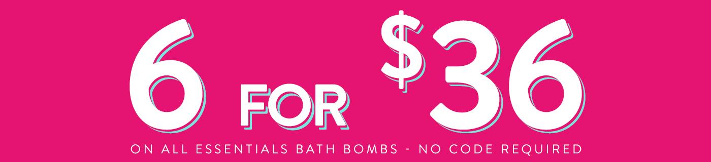 Essentials Bath Bombs
