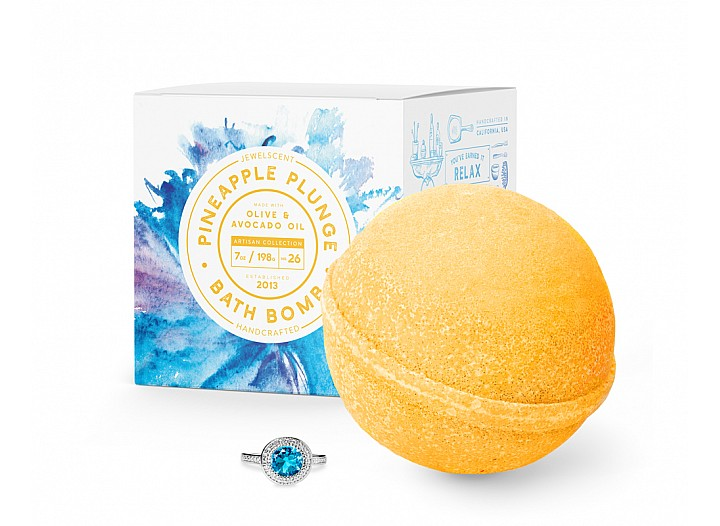 Pineapple Plunge Jewelry Bath Bomb