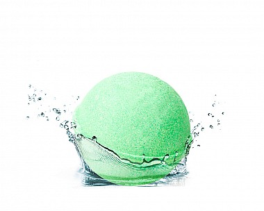 Essentials Fresh Mandarin Herb Bath Bomb