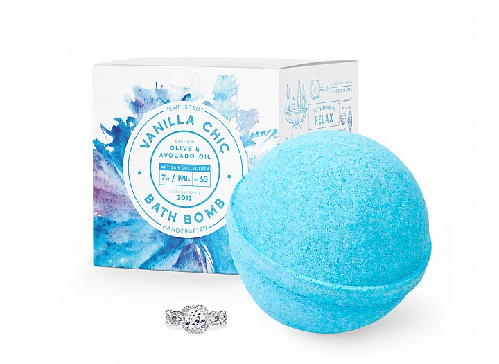Vanilla Chic Jewelry Bath Bomb
