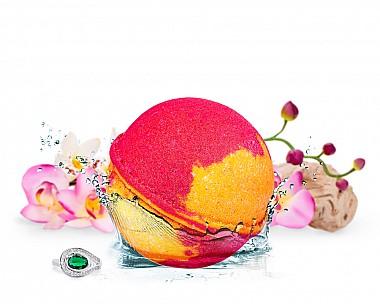 Lucious Grapefruit - Grazie Jewelry Bath Bomb