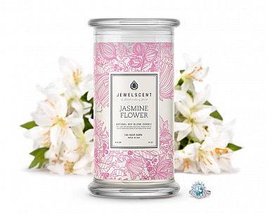 Jasmine Flower Jewelry Candle