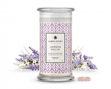 Lavender Willow Jewelry Candle