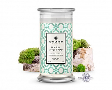 Spanish Moss & Oak Jewelry Candle