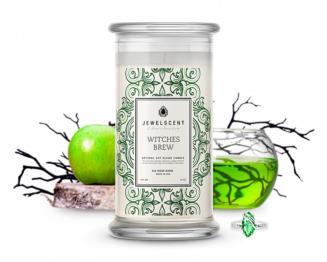 Witches Brew Jewelry Candle
