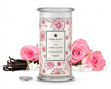 It's Complicated Jewelry Candle