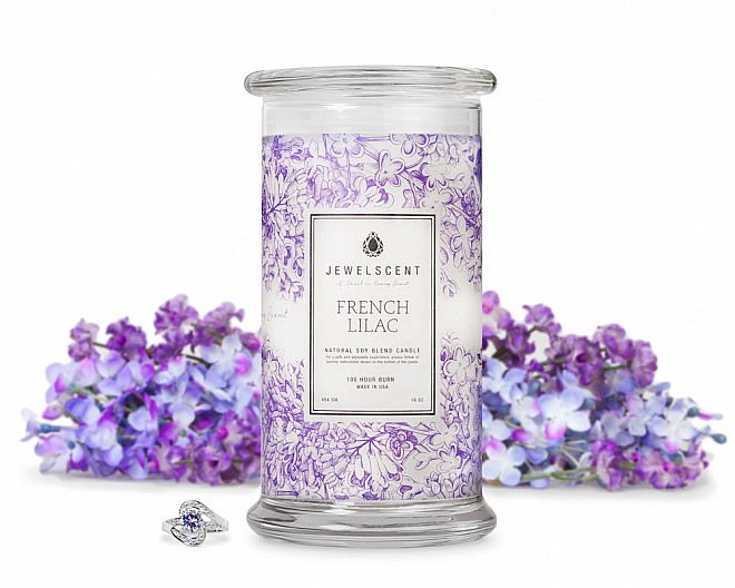 French Lilac Jewelry 16oz Candle