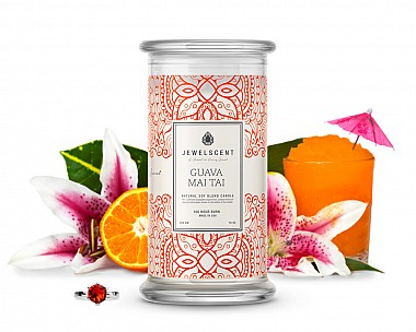 Guava Mai Tai Jewelry 16oz Candle