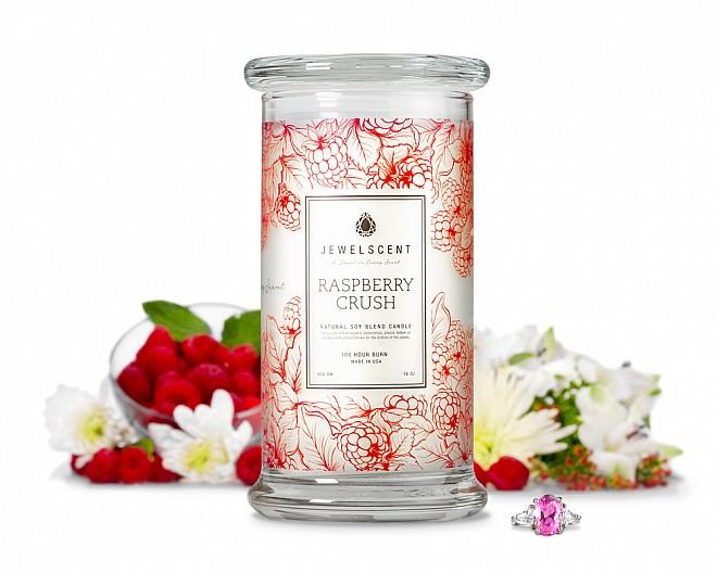 Raspberry Crush Jewelry Candle