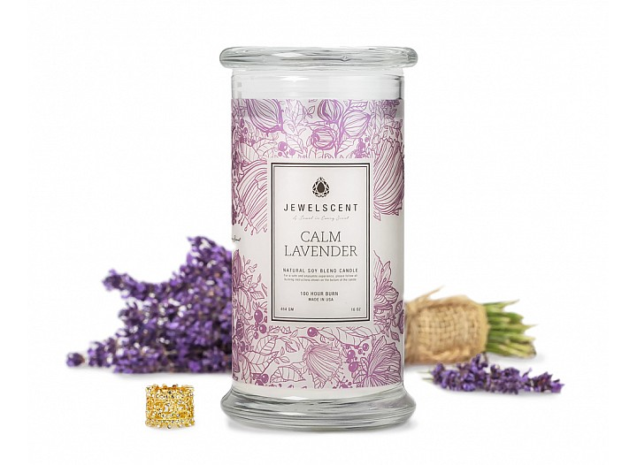 Calm Lavender Jewelry Candle Jewelry Candles Jewelscent