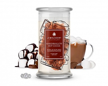 Marshmallow Hot Cocoa Jewelry Candle