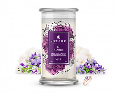 Mi Amour Jewelry Candle
