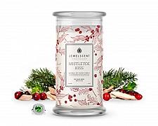 Mistletoe Kiss Jewelry Candle