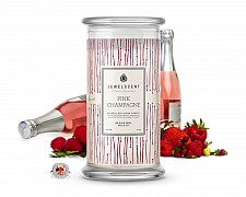 Pink Champagne Jewelry Candle