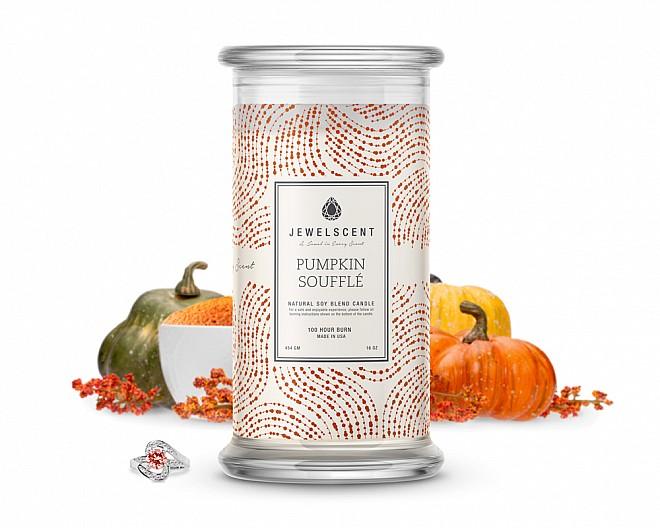 Pumpkin Souffle Jewelry Candle