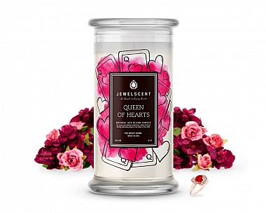 Queen of Hearts Jewelry Candle