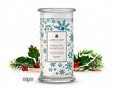 Sparkling Snowflake Jewelry Candle
