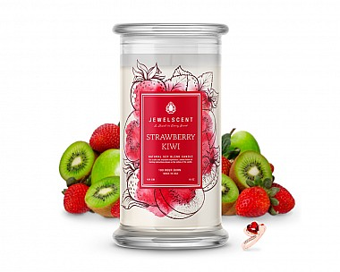 Strawberry Kiwi Jewelry Candle
