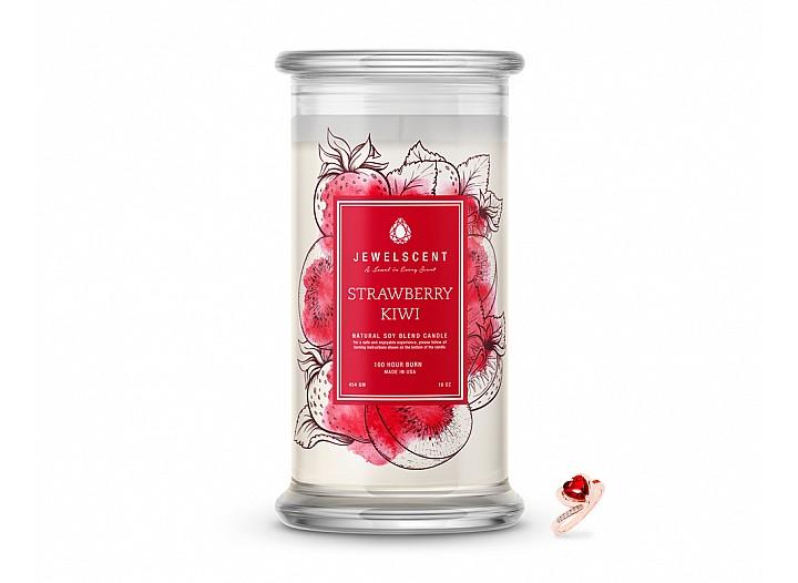 Strawberry Kiwi Jewelry Candle