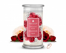 Twilight Rose Jewelry Candle