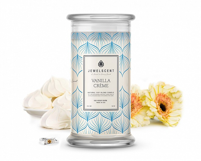 Vanilla Creme Jewelry Candle