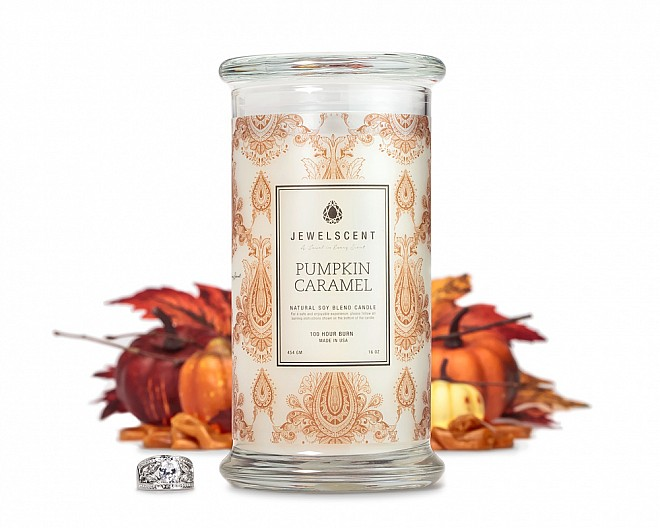 Pumpkin Caramel Jewelry 16oz Candle