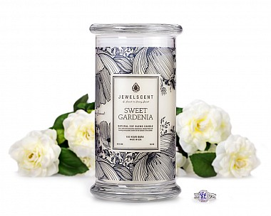 Sweet Gardenia Jewelry Candle