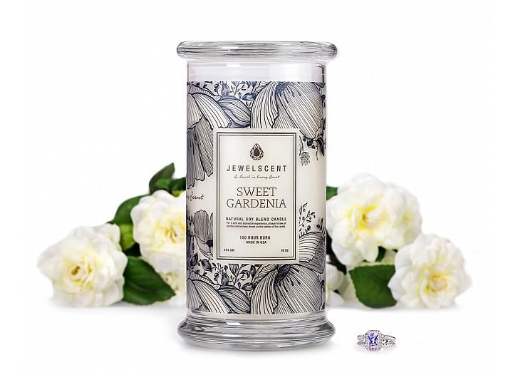 Sweet Gardenia Jewelry Candle