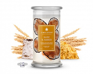 Bark and Amber Jewelry Candle