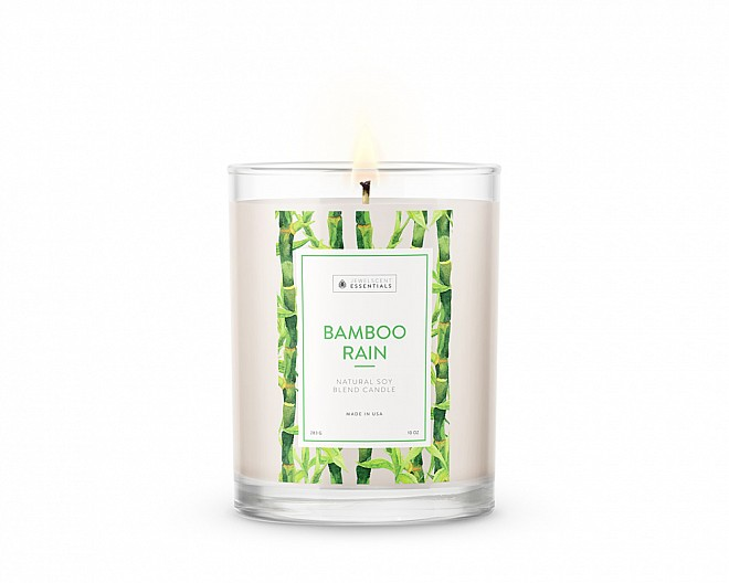 Essentials Bamboo Rain Candle