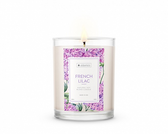 Essentials French Lilac Candle